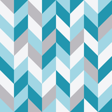 Seamless geometric pattern with zigzag background. Stock Illustratie