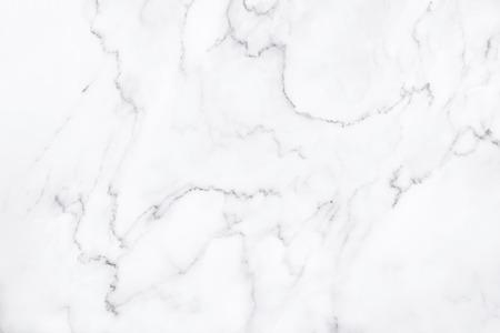 Textura de mármol blanco con patrón natural para el trabajo de arte de fondo o diseño. Foto de archivo