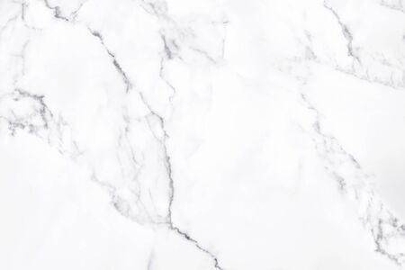 Weiße Marmorbeschaffenheit mit natürlichem Muster für Hintergrund- oder Designkunstwerk.