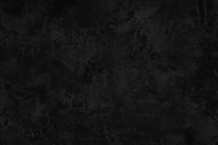 Black concrete texture wall for background.