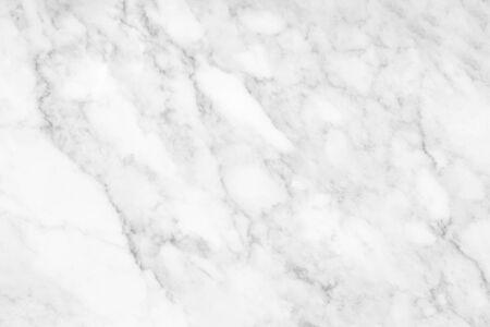 Witte marmeren textuur en achtergrond voor het kunstwerk van het ontwerppatroon.
