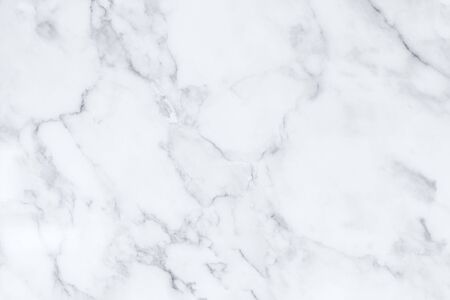 White marble texture with natural pattern for background or design art work. Stock Photo