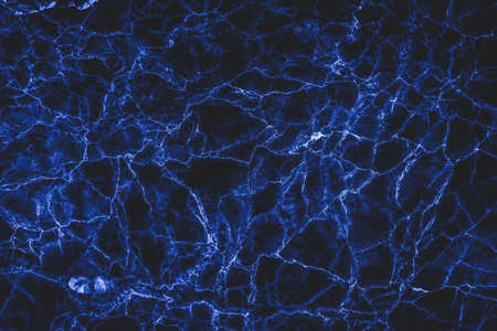 Black and blue marble texture for background or tiles floor decorative design. Stock Photo