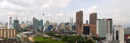 Kuala Lumpur Malaysia Daytime Urban Cityscape Panorama
