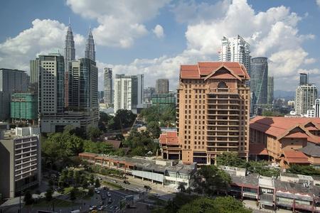 kuala lumpur city: Kuala Lumpur Malaysia Daytime Urban Cityscape View