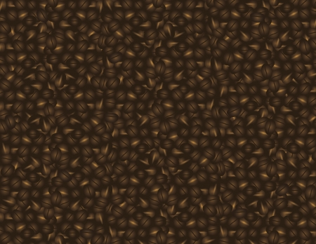 busines: Coffee Beans Background For Poster Postcard or Busines Card Illustration Illustration