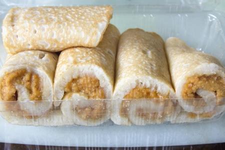 chien: Nyonya Ban Chien Kueh Peanut Pancakes Snacks