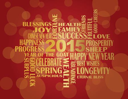 2015 Chinese Lunar New Year English Greetings