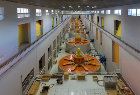 Hydroelectric Powerhouse Generators in Pacific Northwest