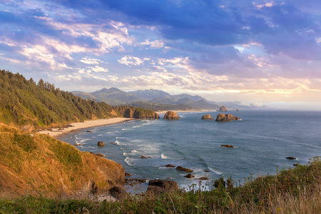 Crescent Beach from Ecola State Park at the Oregon Coast