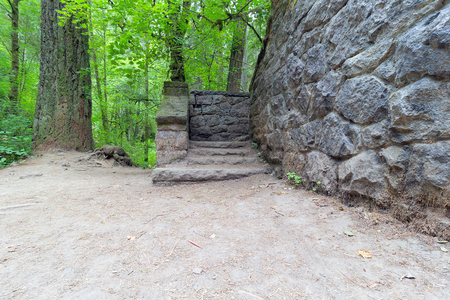 wildwood: Stone House Steps at Wildwood Trail in Portland Oregon