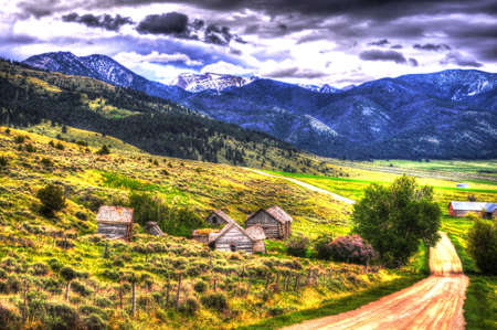 backroad: Montana Ghost Town