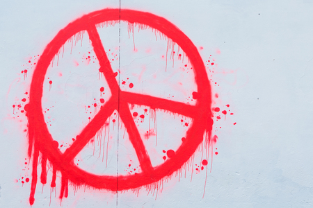 peacemaker: Peace and love sign