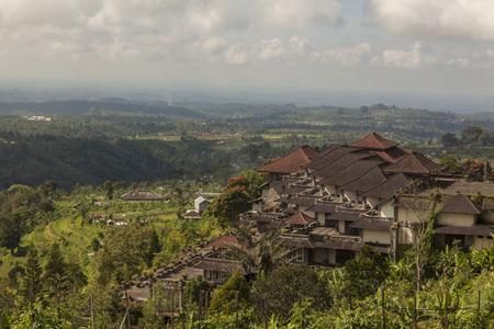 バリ島、インドネシアのアジアの農村