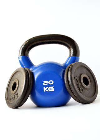 tiresome: Tools for bodybuilding, fitness and crossfit. Weight, glove and kettlebell.