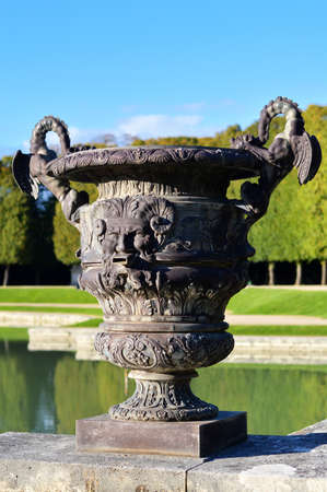 garden fountain: Fountain in a garden