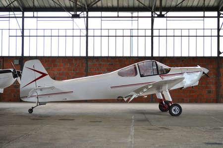 light aircraft: A light aircraft Stock Photo