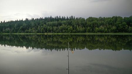 Beautiful reflection on the lake