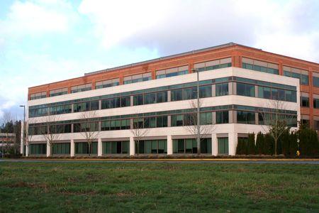quartier g�n�ral: Immeuble de bureaux g�n�riques  Banque d'images