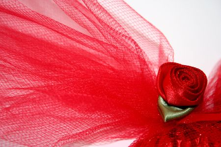tulle: Red Rose and Tulle