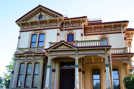 Victorian Mansion Stock Photo - 401030