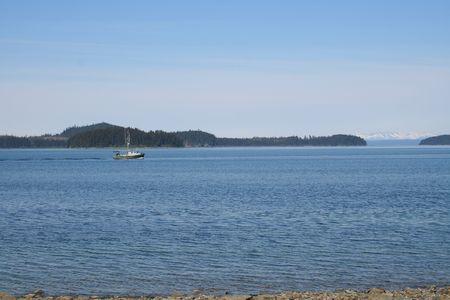 Salmon Troller Stock Photo - 474634