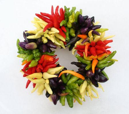 centered: Pepper Wreath Centered