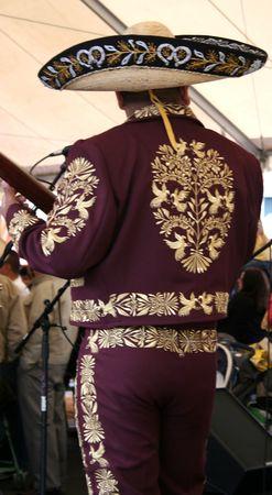 traje mexicano: Mariachi Músico