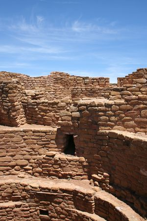 anasazi: Mesa Verde Anasazi Ruins Stock Photo