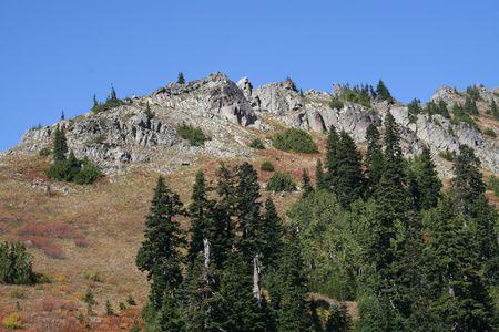chinook: Rocky Peak a Chinook Pass nello Stato di Washington