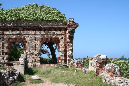 Historic Ruin Near Aguadilla Puerto Rico Stock Photo - 8147870