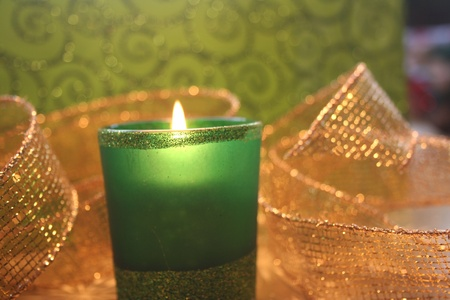 votive candle: Festive Votive Candle