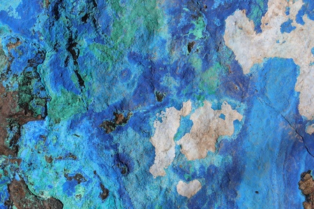 malachite: Azurite and Malachite Rock Stock Photo