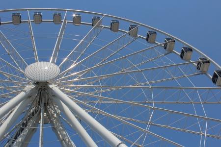 seattle: Large Seattle Washington Ferris Wheel