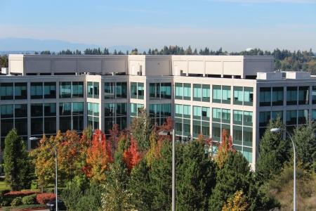 bellevue: Bellevue Washington Office Building in Autumn