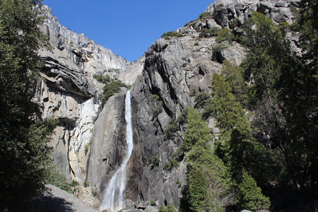 Lower Yosemite Falls Yosemite National Park California photo