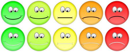 Feedback in de vorm van emoties, smileys, emoji