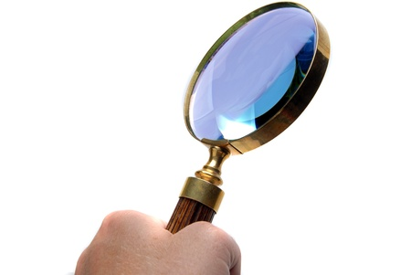 Magnifying glass Stock Photo - 10360733