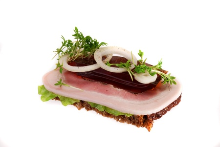 faced: Danish open sandwiches