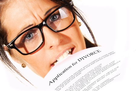 Worried about a letter of divorce