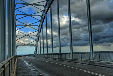 Moen Bridge in Denmark Stock Photo - 13598566