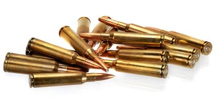 ammunition: Rifle ammunition.