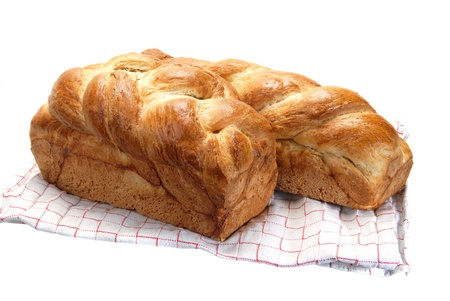Plaited bread. Stock Photo - 15464859