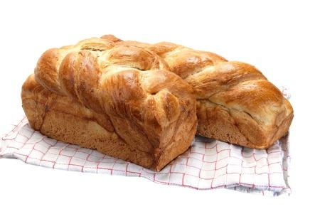 Plaited bread. Stock Photo - 15464859