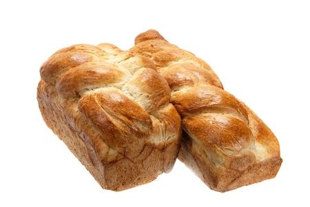 Plaited bread.