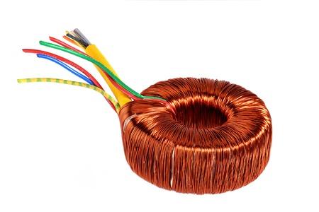 coil: Anillo núcleo del transformador