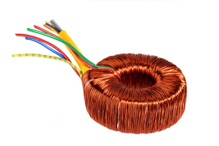 fil de fer: Transformateur à noyau annulaire