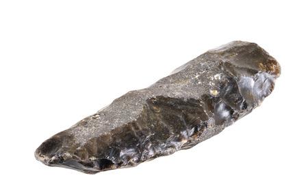 �ge de pierre: couteau de l'�ge de la pierre Paleolithicum 5 400 avant JC - 3 900 avant JC trouv� au Danemark