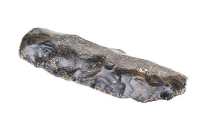�ge de pierre: l'�ge de la pierre couteau Paleolithicum 5 400 BC - 3 900 avant J.-C. Trouv� au Danemark Banque d'images
