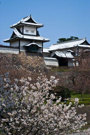 ishikawa: Kanazawa castle,Ishikawa,Japan Editorial